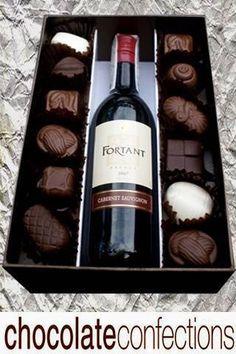 Wedding Favor Ideas For Principal Sponsors : ... sponsor chocolates chocolates wine chocolate wine gifts for principal