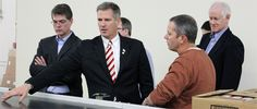 The Fuel Behind US Jobs Creation: Sen. Scott Brown Tours Disruptive Technology at Symbotic and a New Economic Model for Business Warehouse Automation, Disruptive Technology, Supply Chain, Economics, Tours, Business, Brown, Disruptive Innovation, Model