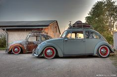 Rat Rod Bug and Street Vintage Bug infestation... VW Bugs by nitrox09