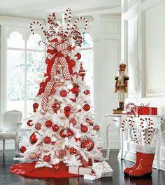 Tree red n white