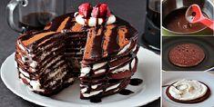 Chocolate Pancake Cake Recipe