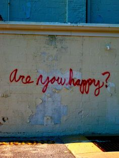 If you don't ask yourself this every once in awhile, you'll forget that you are.