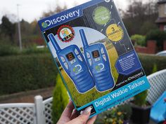Chic Geek Diary: Discovery Digital Walkie Talkies - Review & Giveaw... Discovery Toys, Daisy Chain, Walkie Talkie, Sleepover, When Someone, My Childhood, Competition Giveaway, Geek Stuff, About Me Blog