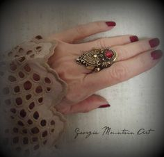 Artisan Saddle Ring Handmade Jewelry Artisan Jewelry, Handmade Jewelry, Unique Jewelry, Handmade Gifts, Saddle Ring, Druzy Ring, Jewelry Design, Boho, Trending Outfits