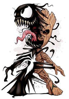 que sinistro! O pequeno Groot do capeta! - Imagine que sinistro! O pequeno Groot do capeta! -Imagine que sinistro! O pequeno Groot do capeta! - Imagine que sinistro! O pequeno Groot do capeta! Cartoon Cartoon, Cartoon Kunst, Comic Kunst, Cartoon Drawings, Comic Art, Black Cartoon, Cartoon Characters, Comic Books, Ms Marvel