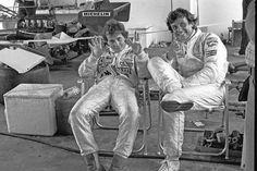 Gilles Villeneuve and Patrick Tambay Ferrari Racing, Ferrari F1, Le Mans, Belgian Grand Prix, Gilles Villeneuve, Formula E, The Right Stuff, F1 Drivers, Top Cars