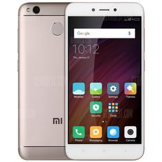 🏷️🐼 Xiaomi Redmi 4X 3GB RAM 4G Smartphone - GLOBAL VERSION GOLDEN - 106.07€    Tip: Unlocked for Worldwide use. Please ensure local area network is compatible. click here for Network Frequency of your country. Please check with your carrier/provider before purchasing this item. Xiaomi Redmi 4X 4G Smartphone 5.0 inch MIUI 8 Snapdragon 435 Octa Core 1.4GHz 13.0MP Rear...  #BonsPlans, #Deals, #Discount, #Gearbest, #Promotions, #Réduc, #Xiaomi