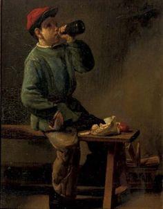 L'heure du déjeuner 1874