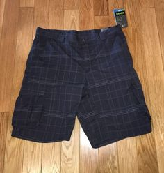 Koppen Men's Cargo Shorts Sun Protection Moisture Control Gray Size 36 NEW NWT    eBay