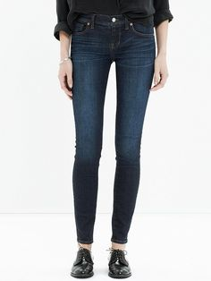 Tip of the Day: The Quickest Way to Look Polished Today via @WhoWhatWear. Love the Fit of the Skinny jeans.