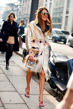 Anna Dello Russo is beyond major! She's wearing all Prada and rockin it! Anna Dello Russo, Fashion Editor, Fashion Trends, Vogue Japan, Vogue Fashion, Street Chic, Timeless Fashion, Style Icons, Cool Outfits
