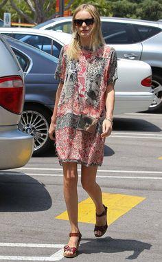 Trucos de estilismo de las celebrities para las vacaciones: Kate Bosworth