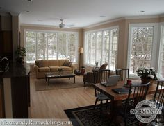 Budget Conscious Sunroom Addition - traditional - family room - chicago - Normandy Remodeling