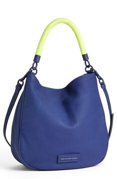 MARC BY MARC JACOBS 'Too Hot to Handle' Leather Hobo available at #Nordstrom-- pretty sure i need it.