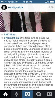 Owl City's Instagrams