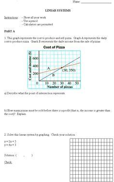 Free high school math worksheet from Funmaths.com | Teaching Math ...