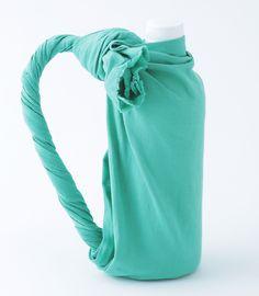 Wrap the plastic bottle