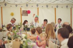 Within one of the LPM Traditional tents.