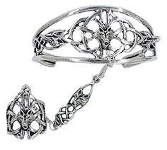 celtic wolf slave bracelet (panja). so cool!
