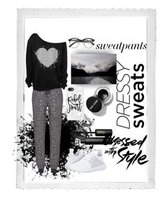 """Dressy sweaty"" by mildredsunrise on Polyvore featuring Polaroid, Sweaty Betty, adidas Originals, Casetify and INIKA"