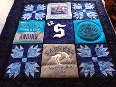 memory quilt with Bear's Paw