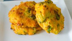 Baby led weaning recipe: broccoli and cheddar patties