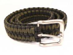 Paracord Belt - How To Make a Survival Belt