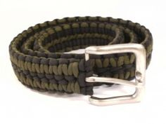 Parachute Cord Belt - always have 100 feet of parachute cord handy!