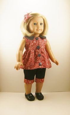 Made For American Girl Doll and Other 18 Dolls 3 by dressurdolly2, $20.00