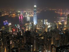 Hong Kong, fabulous city I'd love to go back to. A Manhattan skyline, with the glitz of Vegas and a touch of London.