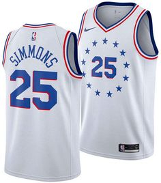 new style 0e7ac 19410 Joel Embiid Icon Edition Swingman (Philadelphia 76ers) Men s Nike NBA  Connected Jersey in 2019   Products   Ben simmons, Nike men, Nike