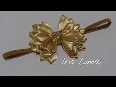 Como fazer laço fru fru com fita de cetim  Parte 1 Diy , Tutorial , Pap By Iris Lima - YouTube