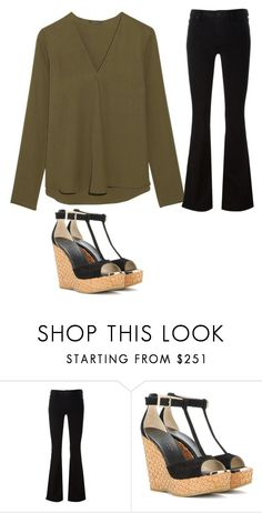 """Untitled #1934"" by kainat-pervez ❤ liked on Polyvore featuring Hudson and Jimmy Choo"