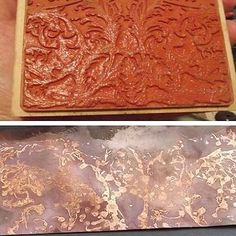 Make Heat-Patina Designs on Copper Using Gel Flux and Rubber Stamps - Jewelry Making Daily - Blogs - Jewelry Making Daily