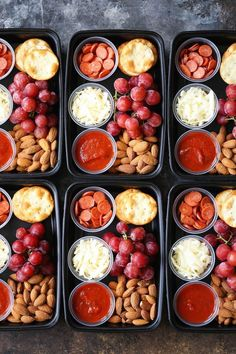 DIY Pizza Lunchables - This is so much better, tastier and healthier than the store-bought kind! Prep/make ahead of time for the week in just min Meal Prep Ideas + Keto Recipes for Fat Loss & Muscle Building Lunch Meal Prep, Healthy Meal Prep, Healthy Snacks, Healthy Eating, Healthy Recipes, Keto Recipes, Budget Meal Prep, Lunch Meals, Healthy School Lunches