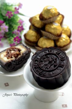 20140829 - Ferrero Rocher Chocolate Coffee Mooncake 金莎巧克力咖啡月饼