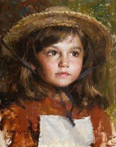 Straw Hat, Morgan Weistling SMALLWORK CANVAS EDITION