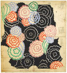 Pattern Inspiration: Sonia Delaunay and Fashion   Smithsonian Cooper-Hewitt, National Design Museum in New York
