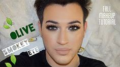 gold smokey eye with green makeup tutorial - YouTube
