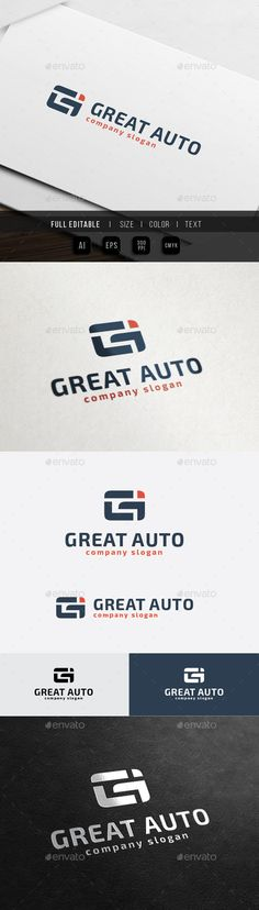 Great Auto  G / Gi letter — Vector EPS #great #game • Available here → https://graphicriver.net/item/great-auto-g-gi-letter/10472224?ref=pxcr
