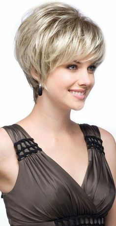 Nice hairstyle and color