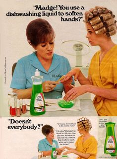 Madge and Palmolive