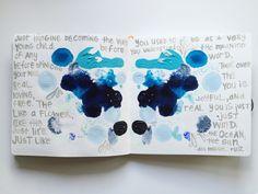 @elizabethev  | Season of Introspection | Get Messy Art Journal |