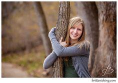 Senior Pictures idea - Tree Hugging!  Photo by Springfield MO Photographer Brittanieking.com