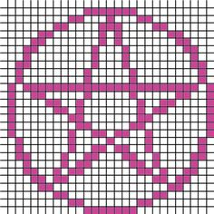 Ravelry: Pentacle Chart pattern by Niamh Dhabolt