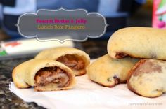 Peanut Butter and Jelly Fingers, Great for an after school snack when the kids are getting home from school.