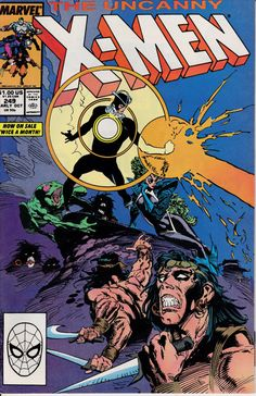 Uncanny X-Men 249 October 1989 Issue Marvel Comics by ViewObscura