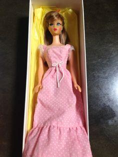 I got on April 2018  1960's Barbie