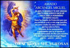 ORACIONES MILAGROSAS: Oración poderosa al ARCANGEL SAN MIGUEL para abrir...