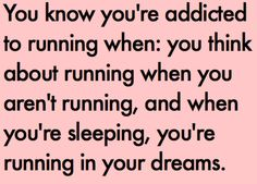 I always have those kind of dream.  Especially right before a race.